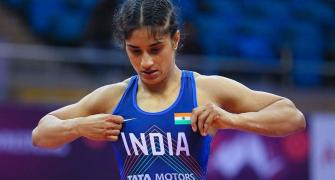 Wrestling: Vinesh returns to mat with gold