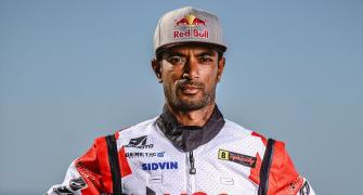 Biker CS Santosh crashes at Dakar Rally, hospitalised