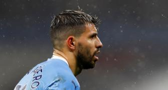 Man City's Aguero tests positive for COVID-19