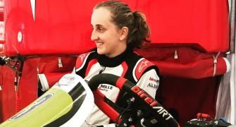 Meet Ferrari's first female driver