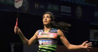 Sindhu, Sameer stumble at Thailand Open