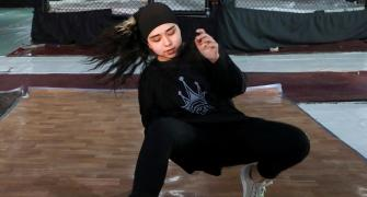 Meet Afghanistan's first female breakdancer