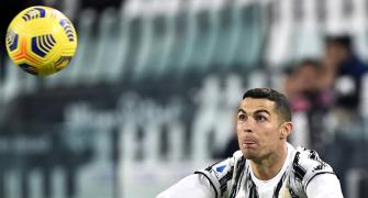 Football PIX: Ronaldo scores in 600th league game