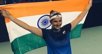 Sania says Olympics medal dream motivated her return