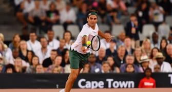 Federer 'pumped up' for return in Doha