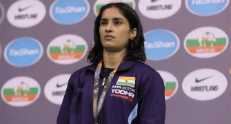 Vinesh storms to gold; rises to World No 1 ranking