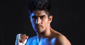 Boxer Vijender exudes confidence ahead of fight