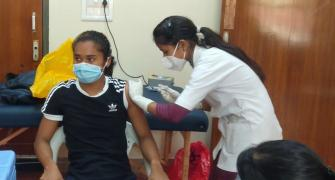 Hima Das gets first jab of COVID-19 vaccine