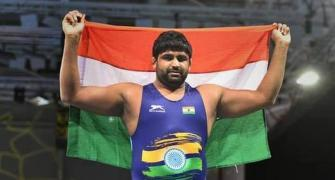 Olympics-bound wrestler Sumit suspended for doping
