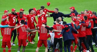 Bayern celebrate record 9th Bundesliga title in a row