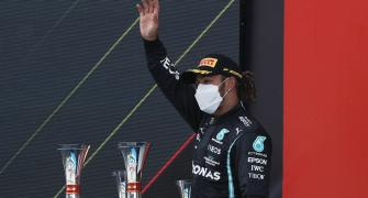 Hamilton takes fifth Spanish Grand Prix win in a row