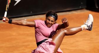 Serena Williams shocked in 1,000th match