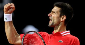 Djokovic outlasts Sonego to set up Nadal final
