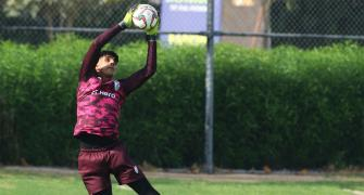 India's Sandhu wants to emulate Liverpool's Alisson
