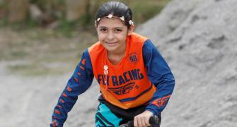 8-year-old BMX cyclist dreams of Olympic Games