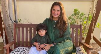 Sania Mirza and her adorable 'new coach'