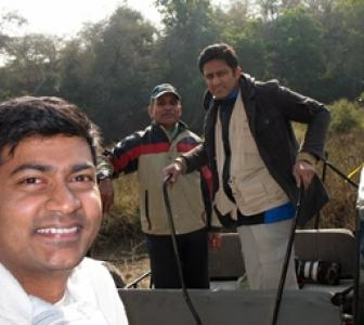 Spotted: Anil Kumble at Ranthambore Tiger Reserve