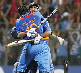 Images: World Cup win at the Wankhede