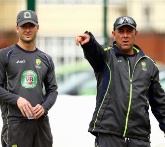 Australia coach Lehmann calls team to muster courage for first Test