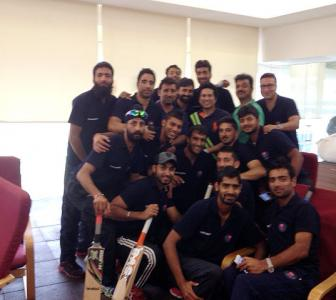 PHOTOS: Tendulkar meets victorious Jammu and Kashmir Ranji team