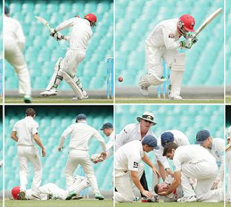 10 critical injuries on the cricket field