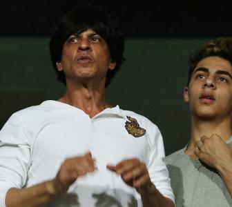 IPL PHOTOS: KKR shine as SRK and family cheer from the stands