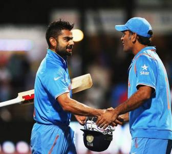 Kohli has to mature; must learn from Dhoni, says Steve Waugh