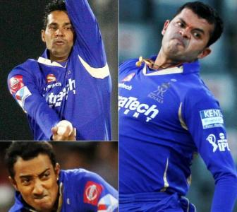 IPL fixing: Sreesanth, Chandila and Chavan cleared