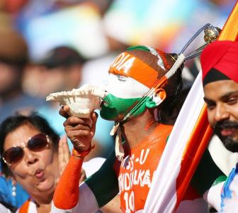 Are you superstitious during an India game?