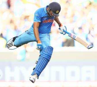 PHOTOS: India take Bangladesh in stride to make World Cup semis