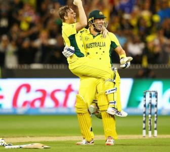 Video: Aussies lift World Cup in David versus Goliath contest