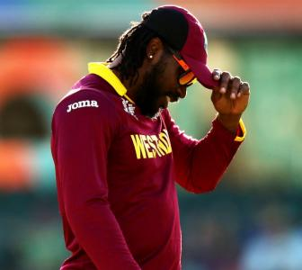 Will outburst against Sarwan end Gayle's career?