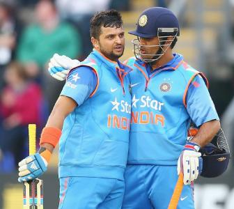 Raina gives fiery reply to 'Dhoni's favourite' remark