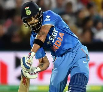 Number crunching: Records galore for Kohli in 1st Twenty20I at Adelaide