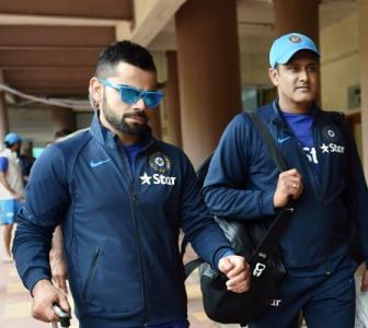 No critical views in manager's reports even after Kohli-Kumble rift