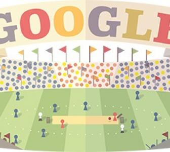 T20 World Cup celebrated with a doodle!