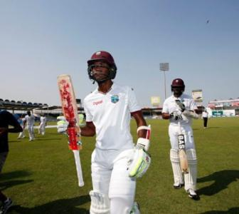 West Indies on brink of consolation victory vs Pakistan