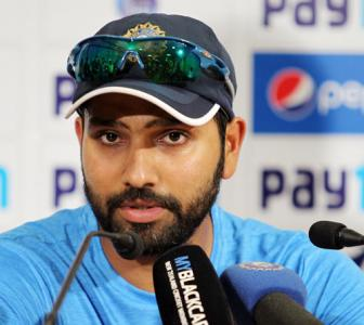 Rohit shoots down 'media claims' of him being under pressure