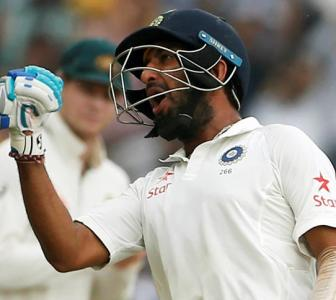 Why Pujara is learning the tricks of sledging