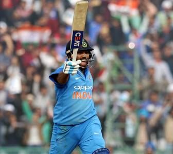 'What an innings Hitman!' Twitter erupts as Rohit hits 3rd double ton