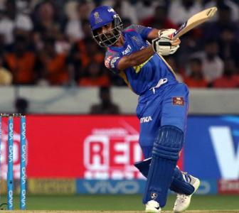 Rahane rues lack of partnerships after loss to Sunrisers