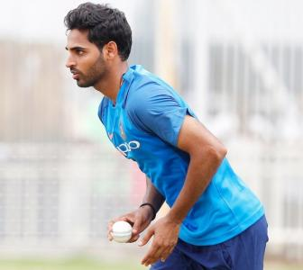 Bhuvneshwar eyes Lord's return for World Cup final