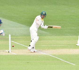 'It was just one of those old school hard days of Test cricket'