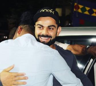 Kohli and Co feast on Hyderabadi biryani