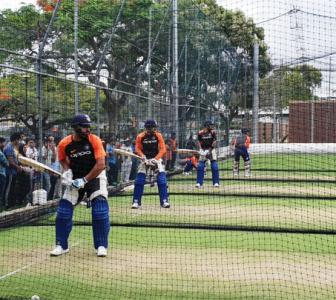 PHOTOS: The heat is on as India players start training in Gabba!