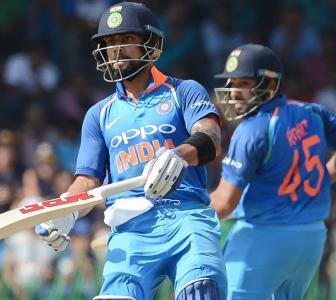 'Tough to dismiss Kohli, Rohit when they are in full flow'