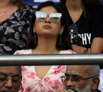 PIX: The many moods of Mrs Dhoni