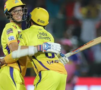 PHOTOS: 'Captain Cool' fumes as CSK win on last ball