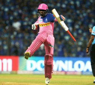 PIX: Rajasthan beat MI by four wickets after hiccup