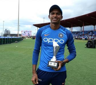 'Could not believe I received the India cap'